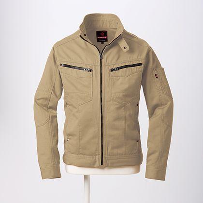 ジャケット カーキ L 5501
