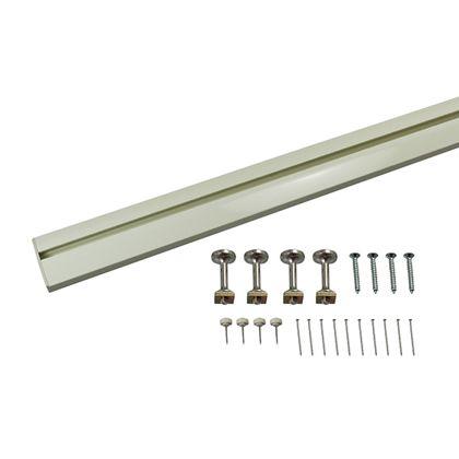 スリムレールフック ホワイト W×D(mm):600×110 MR-415 1 セット