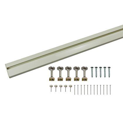 スリムレールフック ホワイト W×D(mm):800×110 MR-416 1 セット