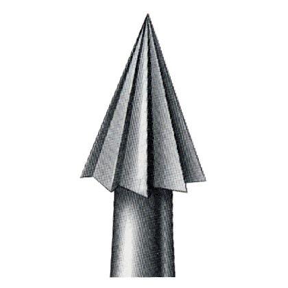 スチールバー  シャンク径(mm):2.35刃径(mm):1.8 No.5-018 6 本