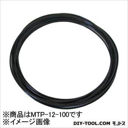 メガタッチチューブ 黒 12mm/100m MTP12100