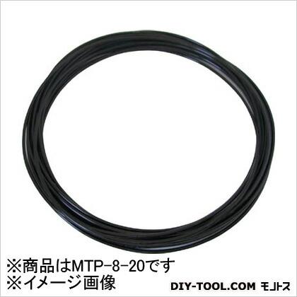 メガタッチチューブ 黒 8mm/20m MTP820