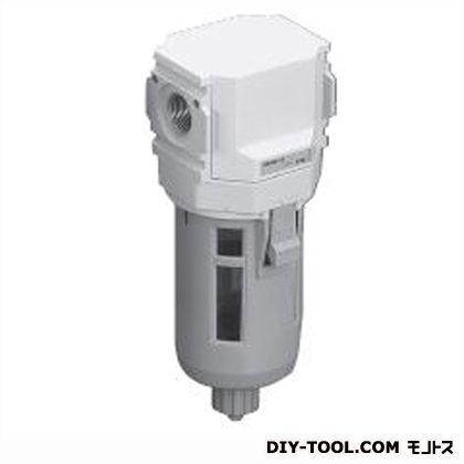 オイルミストフィルタ 白色シリーズ  幅×奥行×高さ:63×63×170.5mm M3000-10-W-F1
