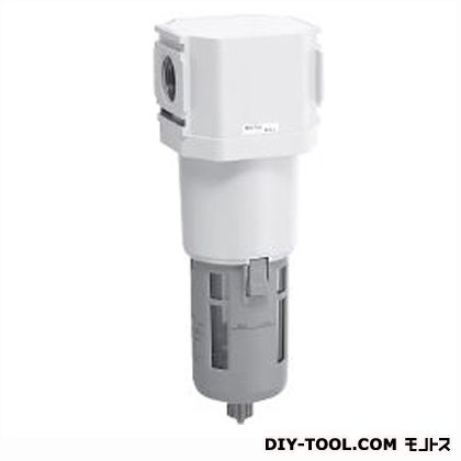 オイルミストフィルタ 白色シリーズ  幅×奥行×高さ:100×100×336mm M8000-20-W-F1