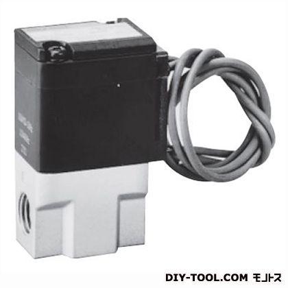 2ポート電磁弁 ジャスフィット圧縮空気用  幅×奥行×高さ:41×28×65.5mm FAB31-6-3-12C-2