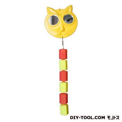 コンパル 防鳥にせネコちゃん 黄色