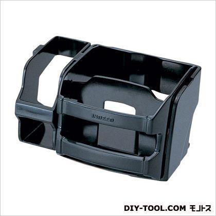 ドリンクホルダー&ホルダー ポケット付 ブラック H66×W120×D90(mm) DZ79