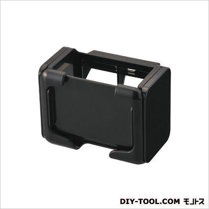 ドリンクホルダー スマホタッチ ブラック ブラック H70×W93×D69(mm)スマートフォン収納可能サイズと重さ:横幅58?70mm、厚み18mm以下、重さ200g以下 CZ356
