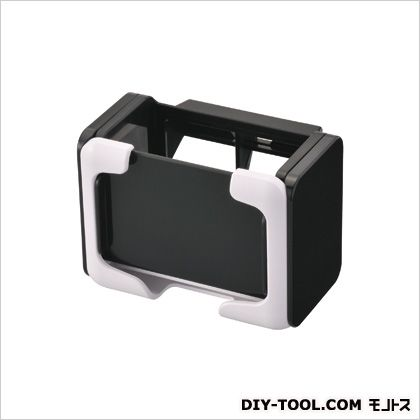 ドリンクホルダー スマホタッチ ホワイト ホワイト H70×W93×D69(mm)スマートフォン収納可能サイズと重さ:横幅58?70mm、厚み18mm以下、重さ200g以下 CZ357
