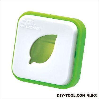 サイ アイコン エア サイリラックス 芳香剤 ホワイト/グリーン H41×W41×D33(mm) H401