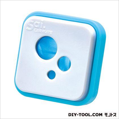 サイ アイコン エア サイスカッシュ 芳香剤 ホワイト/ブルー H41×W41×D33(mm) H403