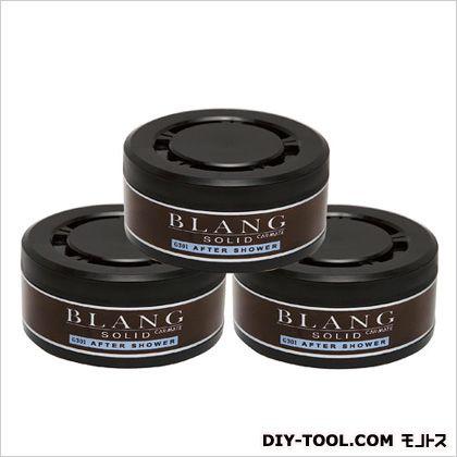ブラングソリッド詰め替え 3P アフターシャワー 芳香剤 ブラック (G301T)