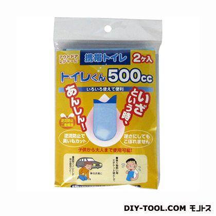 携帯トイレくん  500cc T001 2 個