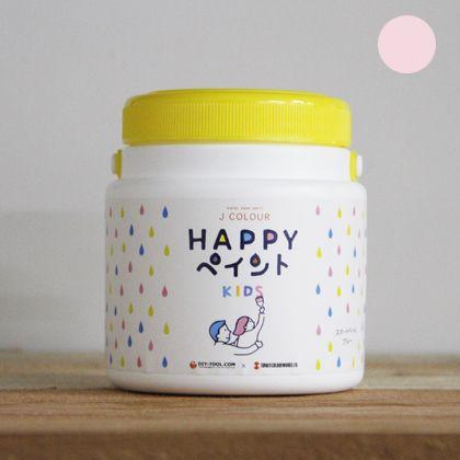 Jカラー HAPPYペイント KIDS 水性塗料 プリンセスピンク 500ml
