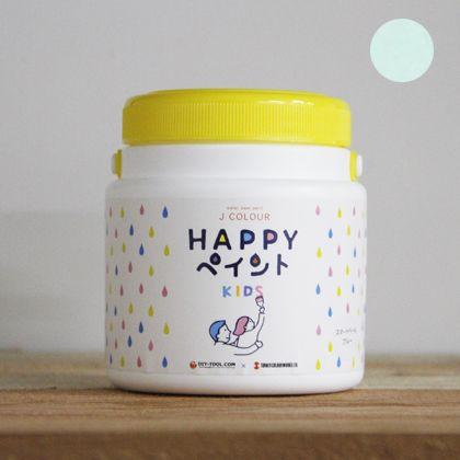 Jカラー HAPPYペイント KIDS 水性塗料 クリエイトターコイズ 500ml
