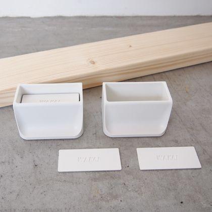 賃貸でも簡単にできる壁面DIYキット(2×4材+ディアウォール) ホワイト  D-3 1 セット