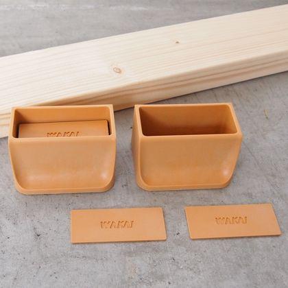 賃貸でも簡単にできる壁面DIYキット(2×4材+ディアウォール) ライトブラウン  D-5 2 セット