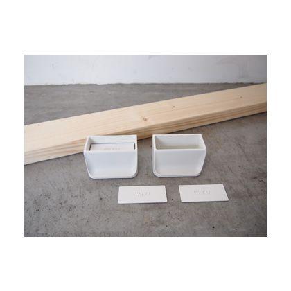 賃貸でも簡単にできる壁面DIYキット(2×4材+ディアウォール) ホワイト  D-6 2 セット