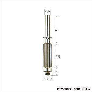 トリマー用 コーナービット 目地払 ロング25 ロング刃長   ML25