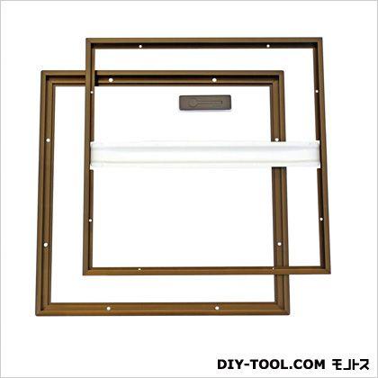 ホーム床下点検口 ブロンズ 46.5×3.3×46.5cm (HDE45B)
