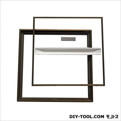 ホーム床点検口桟レスタイプ ブロンズ 46.2×3.1×46.2cm YST450B