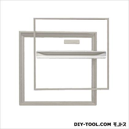 ホーム床点検口 桟レスタイプ ステンカラー 61.2×3.1×61.2cm YST600N