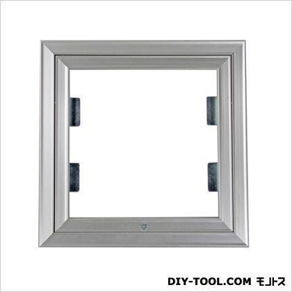 壁点検口 シルバー 26.1×3×26.1cm WE25J