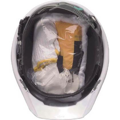 DICプラスチック A-01防災用品ヘルメットセット 白 (×1個)   A01BOUSAI