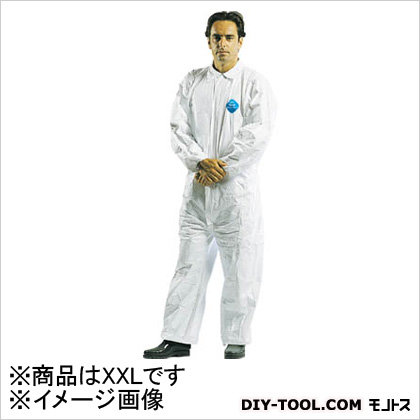 デュポン タイベック防護服 XXL (×1)   TV1