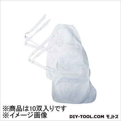 デュポン タイベック製シューズカバー長 10双入り (10双×1PK)   TSC6873