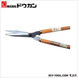 ドウカン ザ・植木屋 竹 (黒仕上) 刈込鋏  全長700mm No.0124