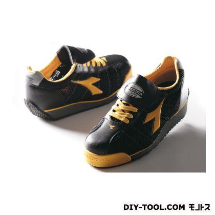 KINGFISHER キングフィシャー 作業用靴 BLK+YEL 23.5cm (KF-25)