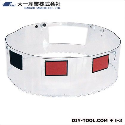ポリッシャー用2WAYカバー12/14 透明  D37-0027 1 個
