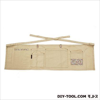 ガーデン腰下エプロン  総丈280mm×裾巾970mm。 GF-220