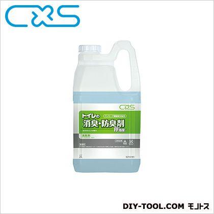 トイレ用消臭防臭剤 トイレの消臭・防臭剤  2L 5215191 1 本