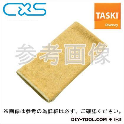 マイクロファイバークロス TASKIマイクロクイック 黄 W400xH400mm 5627689 5 枚