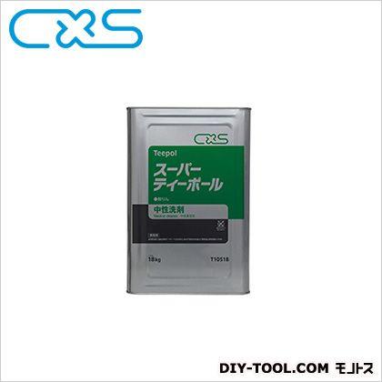 中性洗剤スーパーティーポール  18L T10518 1缶