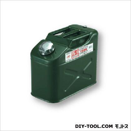 大自工業 ガソリン携行缶 縦型  345(W)×278(H)×173(D)mm 0301FK-10