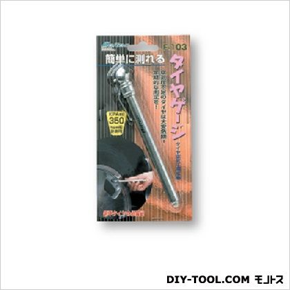 タイヤゲージ ペンタイプ 約17(φ)×144(H)mm (0301F-103)