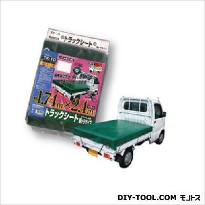 大自工業 トラックシート エステル帆布 軽トラックサイズ   0301TK-10