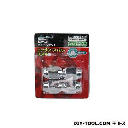 大自工業 ホイールナット 袋 ピッチ1.25   N02-4 4 P