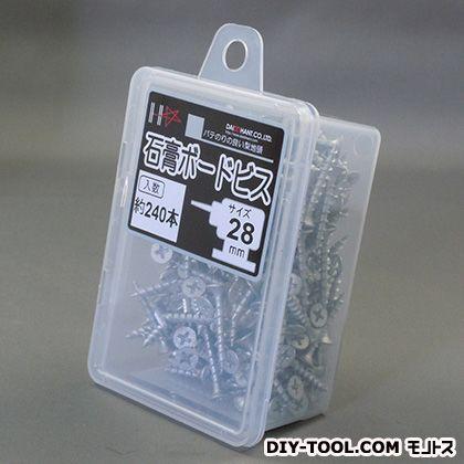 HC石膏ボードビス シルバー 28 (10176935) 240本入