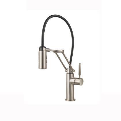 ソルナ キッチン用水栓(プルダウン シャワー) ステンレス  63221LF-SS