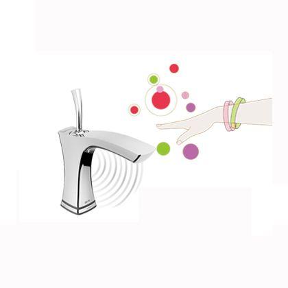 テスラ 洗面用タッチ&センサー水栓 クローム  552TLF