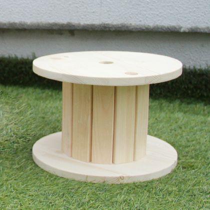 組立て簡単!木製ドラムキット(イス向けサイズ) 直径:300mm 高さ:200mm