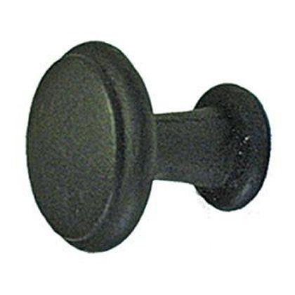 ノブ BK102 黒 30φ×D30mm KN120BK