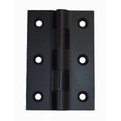 ヒンジ 黒 W52×H76mm HI230BK