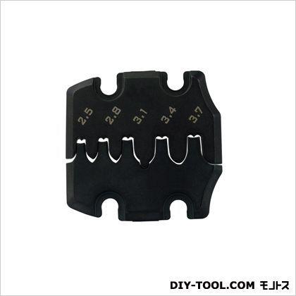 PAD-13交換用ダイス ブラック 長さ:41.5mm幅:40mm厚み:5.9mm PAD-13S