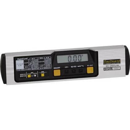 磁石付デジタルレベル(デジタル水平器)  260mm ED-26DGLMN