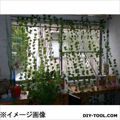 アイガーツール アイガー緑の造花カーテン  1.8×3m E183